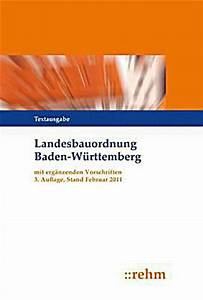 Lbo Bw Abstandsflächen : landesbauordnung baden w rttemberg lbo bw mit erg nzenden ~ Whattoseeinmadrid.com Haus und Dekorationen
