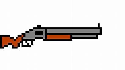 Shotgun Animation Pixel Gun 3d Minecraft Works
