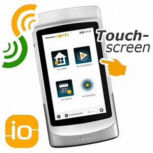 Rolladensteuerung Funk Somfy : somfy tahoma pad io handsender mit touch display ~ Michelbontemps.com Haus und Dekorationen