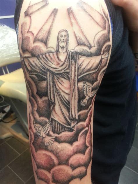 latest christ  redeemer tattoos