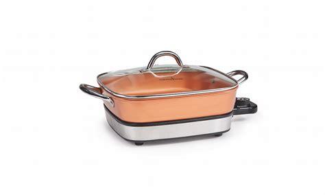 home copper cooking pan buffet server cookware set