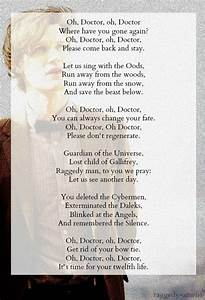 A poem dedicate... Dedicated Doctor Quotes