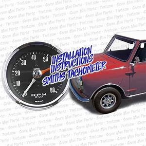 Installation Instructions  Smiths Tachometer