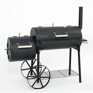Grill Und Räucherofen : landmann xxl grill lok smoker bbq holzkohle grill r ucherofen grill wagen neu 4000810110933 ebay ~ Sanjose-hotels-ca.com Haus und Dekorationen