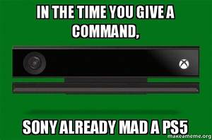 In The Time You Give A Command Sony Already Mad A PS5