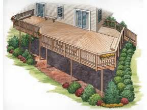 Surprisingly Deck House Designs by House Plans With Second Story Deck Outdoor House Plans