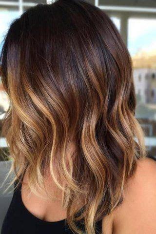 gorgeous highlights  brightening  dark brown hair