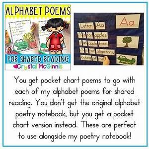 Pocket Charts 26 Alphabet Poems For Shared Reading