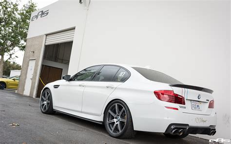 Alpine White Bmw M5 F10