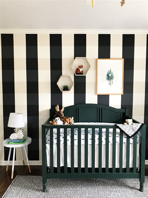 With an idea in mind, personalize your nursery with heartfelt room accents like custom wall art. Woodland Creatures Nursery Decor For Baby Boy Or Girl | Nursery decor, Decor, Plaid nursery