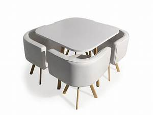 Table Et Chaises Scandinaves : table et chaises scandinaves oslo blanc vente de menzzo conforama ~ Teatrodelosmanantiales.com Idées de Décoration