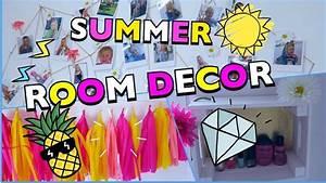 Coole Mädchen Zimmer : 3 diy roomdecor ideen sommer zimmer dekorieren coole ~ Michelbontemps.com Haus und Dekorationen