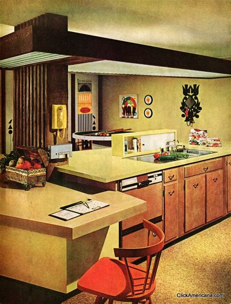 richelieu kitchen accessories four wonderful workable kitchens 1965 click americana 1965