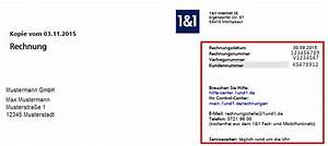 Ihre Aktuelle Rechnung : aufbau der 1 1 rechnung 1 1 hilfe center ~ Themetempest.com Abrechnung