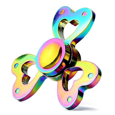 Coloring Zinc Alloy by Zinc Alloy Rainbow Fidget Spinner