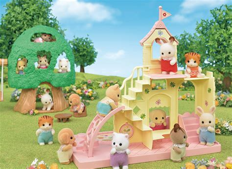 reviews summer preschool toys the insider 876 | EpochEverlastingPlay Calico Critters Nursery Series