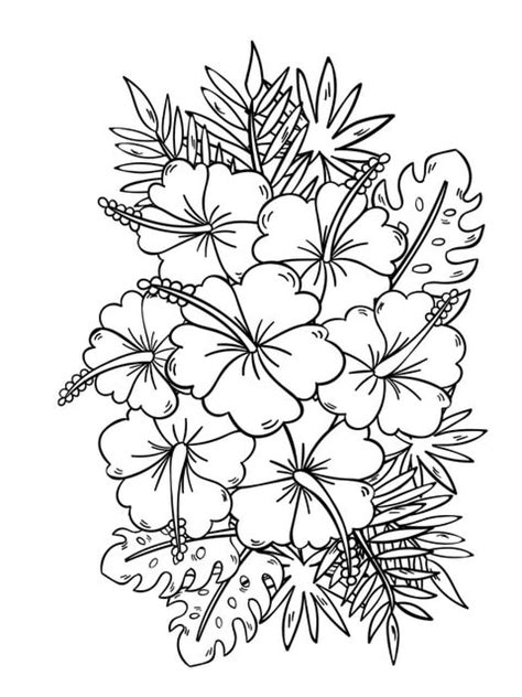 Fanciful Flowers: Adult Coloring Book Designs Myria