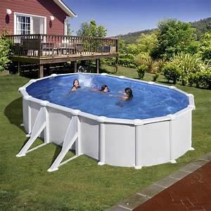 Piscine Ovale Hors Sol : piscine hors sol ovale gre mod le atlantis ~ Dailycaller-alerts.com Idées de Décoration