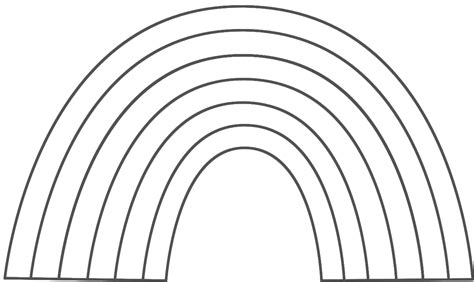 Coloring Pages Of Rainbows by Rainbow Coloring Pages Bestofcoloring