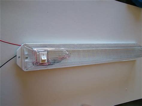 convert your fluorescent cing light to a led cing light