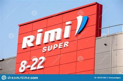 Rimi Hypermarket Logo. Rimi Is A Major Retail Operator In ...