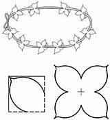 Lei Flower Pattern Activities Printable Templates Craft Games Coloring State Texas 1000 Patterns Club sketch template