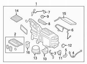 2013 Ford Edge A  C Evaporator Drain  Dual  Zone  Sensor