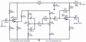 Two Transistor Tone Controller