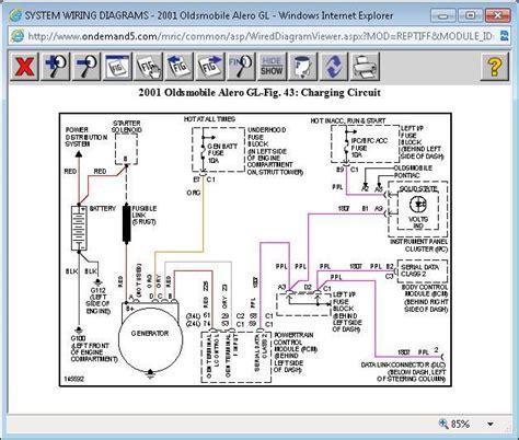 Wiring Diagram 2002 Alero Car by Alero Wiring Diagram All Of Wiring Diagrams