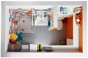 superb idee deco salle de bain petite surface 2 petite With decoration salle de bain petite surface