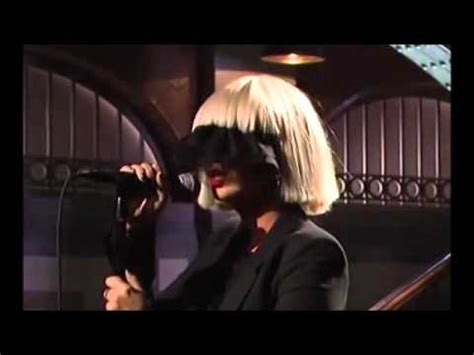 sia chandelier live vocals mic feed snl