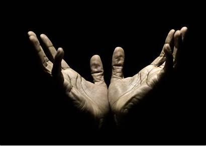 Hands Praying Reaching Whites Heaven Spiritual Istock