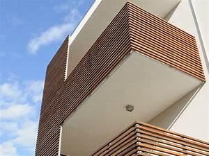 Brise Soleil Horizontal : wood panel for facade brise soleil by ravaioli legnami ~ Melissatoandfro.com Idées de Décoration