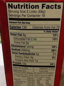 Jimmy Dean Turkey Sausage Links 48 Count Package