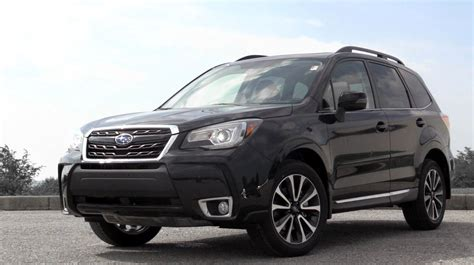 subaru forester red 2017 2017 subaru forester review youtube