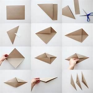Origami Stern Falten Einfach : einfache faltanleitung in bildern f r origami stern ~ Watch28wear.com Haus und Dekorationen