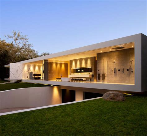 modern pavillon design the most minimalist house designed architecture beast