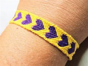 bracelet brésilien motif coeur les confections de laurence