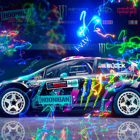2048x2048 Ford Fiesta St Rx43 Hoonigan Car Ipad Air Hd 4k