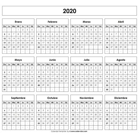 calendario calendario en blanco calendario