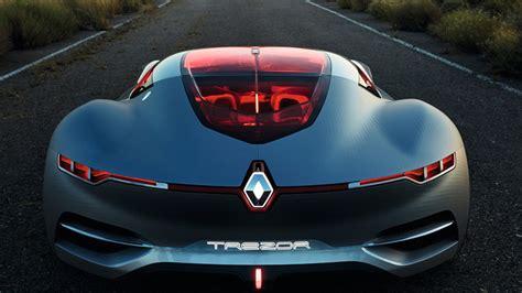 Renault Trezor Electric Concept High Tech Glorious Sleek
