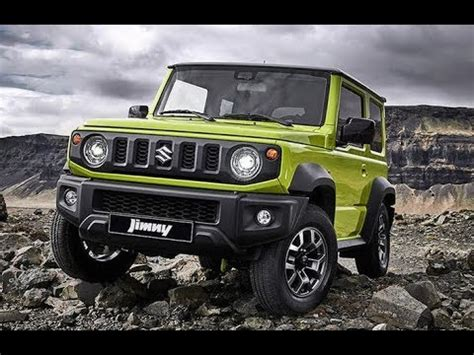 novo suzuki jimny  detalhes top carros youtube