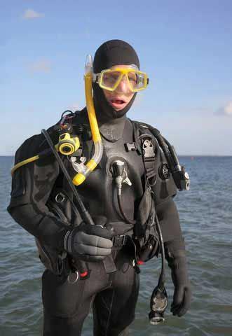 scuba drysuit lovely dark  deep  susannah
