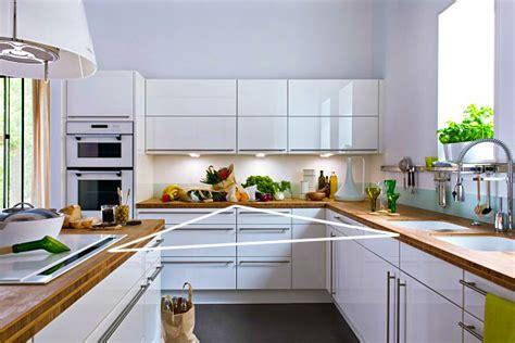 regle cuisine cuisine les règles de base pour aménager sa cuisine
