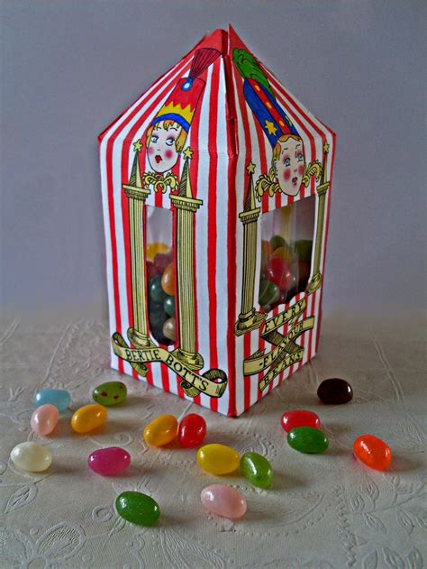 Bertie Botts Every Flavour Beans Box Template Party