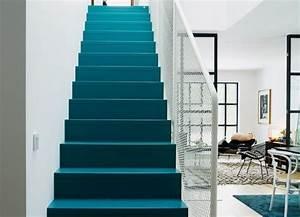 les 43 meilleures images a propos de escaliers stairs With marvelous couleur bleu canard deco 2 du bleu dans ma deco frenchy fancy