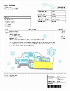 lawn care invoice examples joy studio design gallery With snow removal invoice