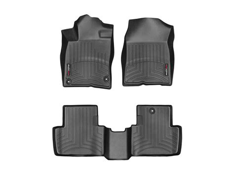 weathertech floor mats honda civic 2017 weathertech floor mats floorliner for honda civic coupe 2016 2017 black ebay