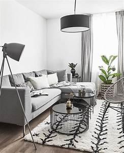 Sofa Nordischer Stil : 721 besten wohnzimmer skandinavisch bilder auf pinterest ~ Lizthompson.info Haus und Dekorationen