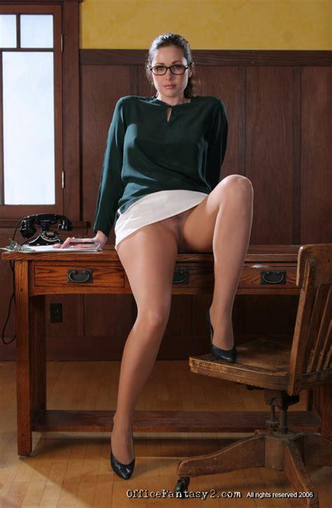 Aimee Sweet Horny Secretary Office Fantasy Foxhq
